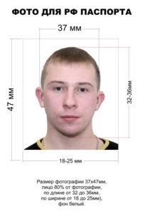 характеристики фото для паспорта