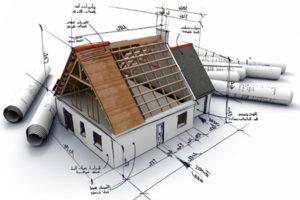 схематичное изображение дома